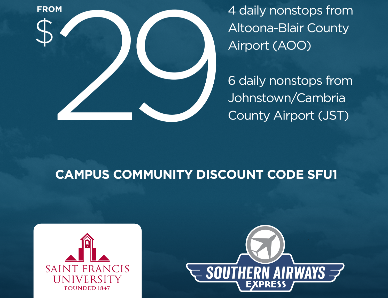 southern airways 2017 offer