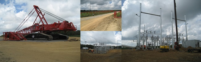 Patton Wind Farm Construction Photos 2