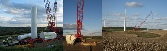 Patton Wind Farm Construction Photos 3