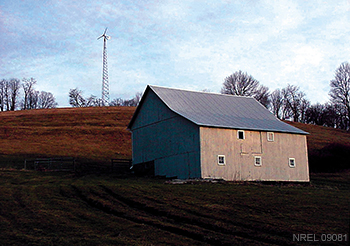 Jacobs Small Wind Turbine in PA