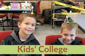 SOC Kids College - button