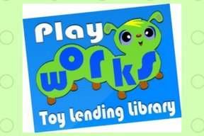 Toy Lending Library Link button