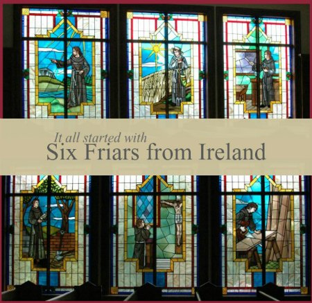 six friars square graphic