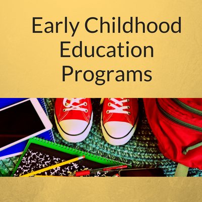 Early Childhood Education Industry Button