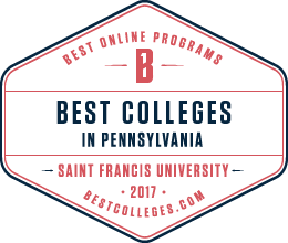 2017 Best Colleges Seal