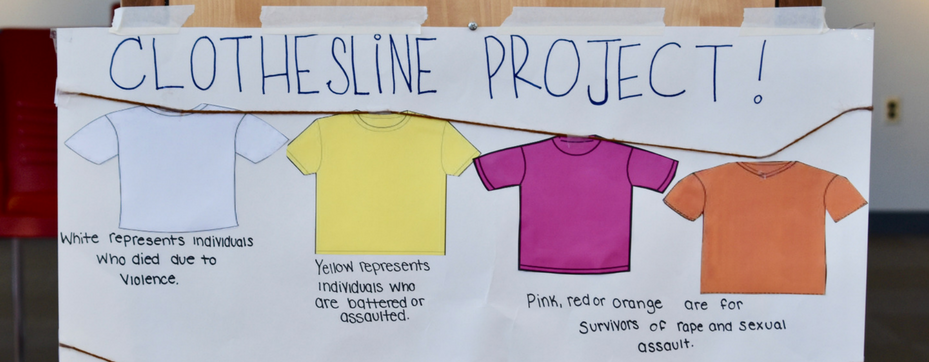 Social Work Clothesline Project Shirts
