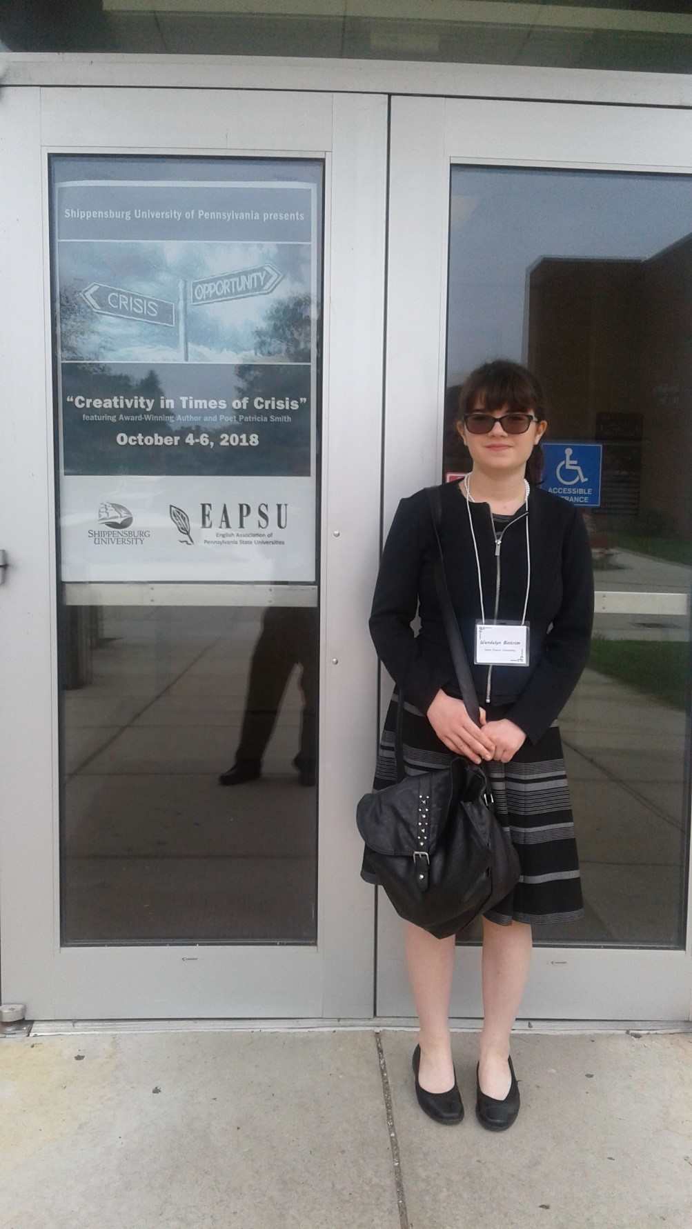 Wendy Bintrim at the 2018 EAPSU Conference at Shippensburg U of PA