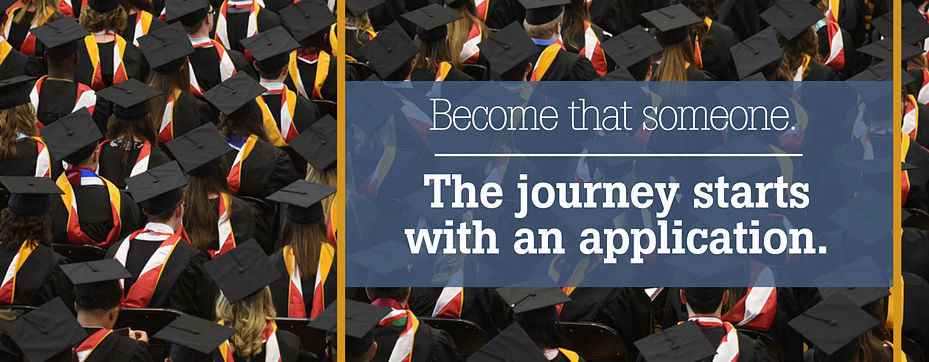 Journey starts with an application