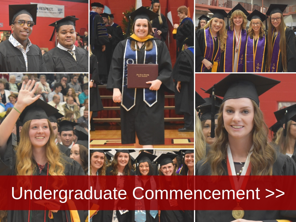 Undergrad collage commencement 2019