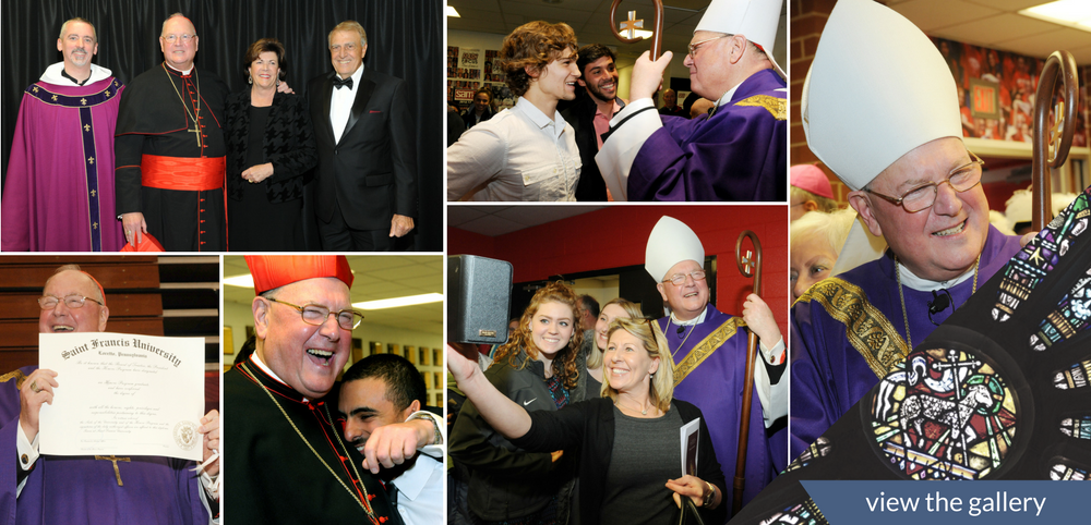 Cardinal Dolan Photo Collage