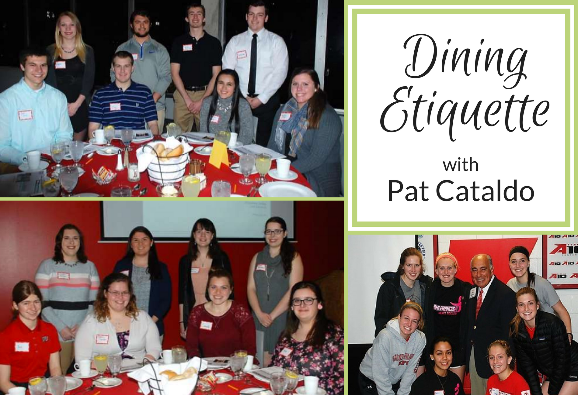 Etiquette with Pat Cataldo