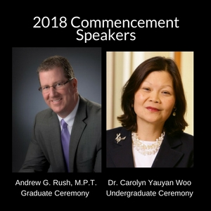 2018 Commencement Speakers