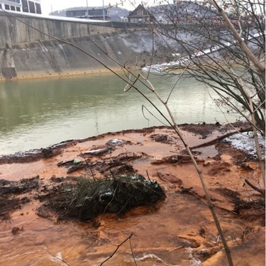 Acid Mine Drainage in Johnstown