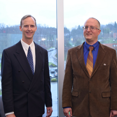 Dr. Dick Carpenter Visits SFU