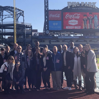 Business Students Visit PNC Park-sp
