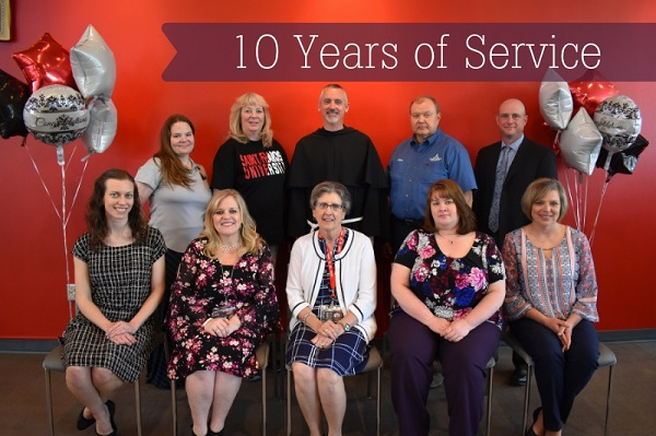 10 years of service 2019