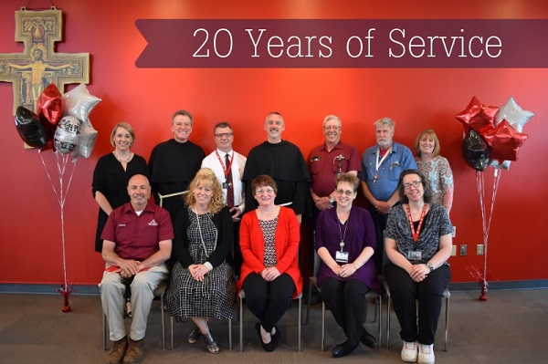 20 years of service 2019